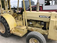 White 263-71715 6000lb Gas Outdoor Forklift