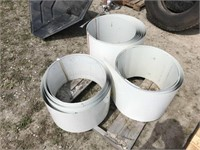 3 Rolls of Sheet Metal