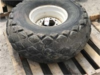 16.7-16.1 Tire and Rim (Wore)