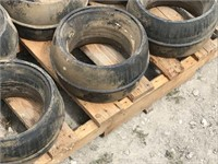 9-Press Wheels for CIH 800 Planter Units