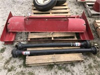 Adapter Plate and Shafts for Byron Corn Head