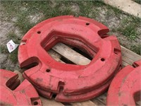 2-Farmall Rear Wheel Weights