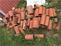 Lot of Clay Tile