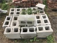Lot of Cement Blocks