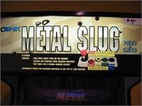 """SNK """"METAL SLUG"""" (NEO*GEO)  VIDEO GAME w/ KEYS"""