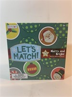 Lets Match Christmas Themed Matching Game