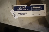BOX OF 24 CONTAINERS ULINE SHRINK BANDS