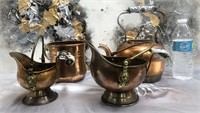 335 - LOT OF 4PCS OF COPPER KITCHEN ITEMS