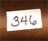 346 -STUNNING BROYHILL WOOD TABLE W/6 & CHINA HUTC