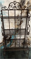 335 - BEAUTIFUL METAL BAKERS RACK/SHELF