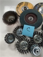 714 - LOT OF CUTTING & CLEANING TOOLS (C)