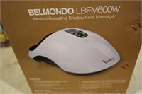 BELMONDO HEATED KNEADING SHIATSU FOOT MASSAGER