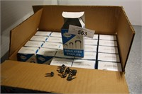 BOX OF 24 WEE BOXES 100EA INSULATED STAPLES