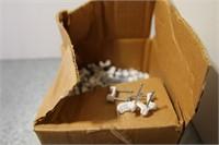 """PART BOX 1/2"""" PLASTIC STAPLES"""