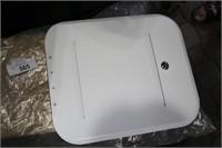 """WHITE CAMPER DOOR BATTERY VENT DOOR(KEY) 12""""X14"""""""