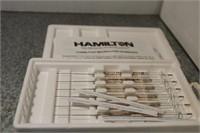 TRAY- W/HAMILTON MICROLITER SYRINGES