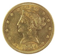 Online Rare Coin & Currency Auction #55