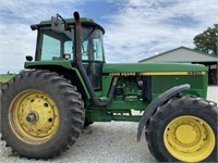 1993 John Deere 4960 MFWD Tractor (See Notes)
