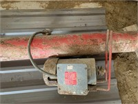 Farm King 15ft x 6in Auger w/Electric Motor