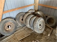 Quantity of Tires and Rims