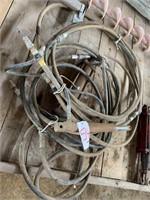 2-Hydraulic Cylinders w/Hoses