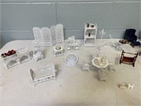 Doll House, Table & Accessories