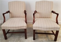 PAIR OF BEAUTIFUL ACCENT CHAIRS - SEE PICS 4 COND.