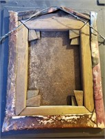 31 - BEAUTIFUL VINTAGE SIGNED GOLFER WALL ART