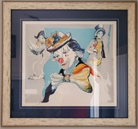 31 - SIGNED & NUMBERED CLOWN WALL ART