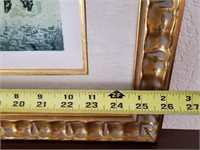 31 - SIGNED & NUMBERED ASIAN WALL ART