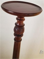 31 - BEAUTIFUL TALL WOODEN PLANT STAND