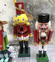 335 - LOT OF 4 ADORABLE NUTCRACKERS