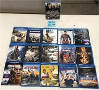 335 - LOT OF 16PC BLU RAY MOVIES - SEE PICS
