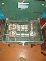 Dual fuel camp stove 424