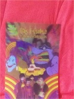 The Beatles Yellow Submarine Holographic poster.