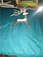 Deer candle holder