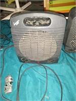 Comfort zone space heater