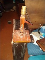 Wooden lamp old
