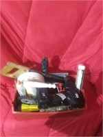 Lot of assorted tools in medium sized carrying