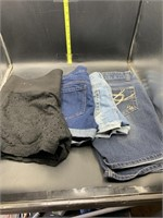 All name brand shorts including Maurices, rue 21
