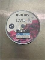 25 recordable dvds - still sealed