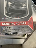 GM 1992-up stereo install kit