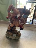 Native American figurine