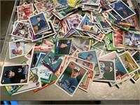 Large lot of baseball cards