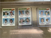 Rookies baseball cards