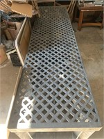 Plastic table - 8ft x 2ft