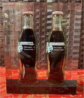 SUPER BOWL CHAMPIONS MIAMI DOLPHINS COKE BOTTLES