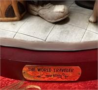 N - EMMETT KELLY WORLD TRAVLER FIGURINE