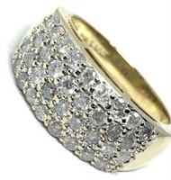 14KT YELLOW GOLD 1.00CTS DIAMOND RING