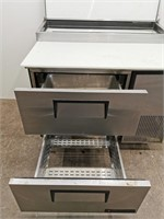 True TPP-44D-2 2 Drawer Pizza Prep Table